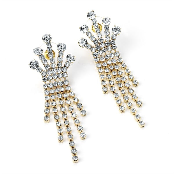Náušnice Crystal Crown