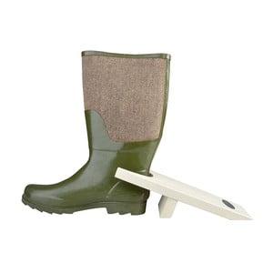 Biely vyzúvač na topánky z borovicového dreva Esschert Design