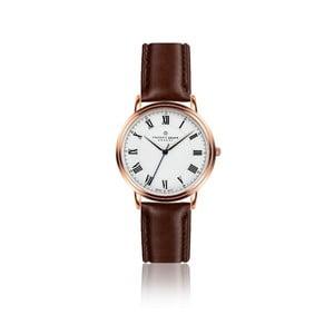 Pánské hodinky s hnedým remienkom z pravej kože Frederic Graff Weisshorn