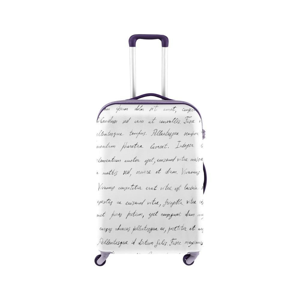 Biely obal na kufor Oyo Concept Spisovateľ, 76 × 49 cm