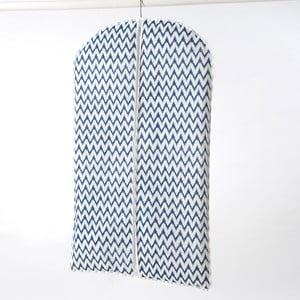 Textilný závesný obal na šaty Compactor ZigZag, 100 cm