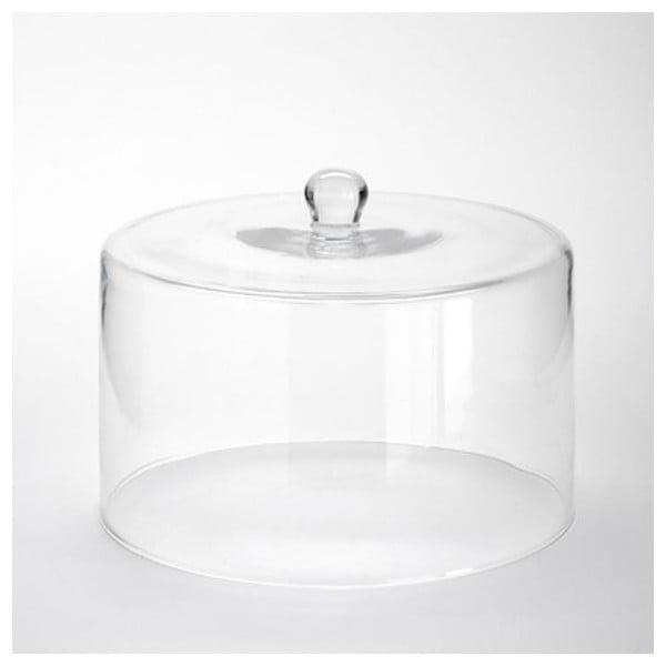 Sklenený poklop Cylinder, 24x18 cm