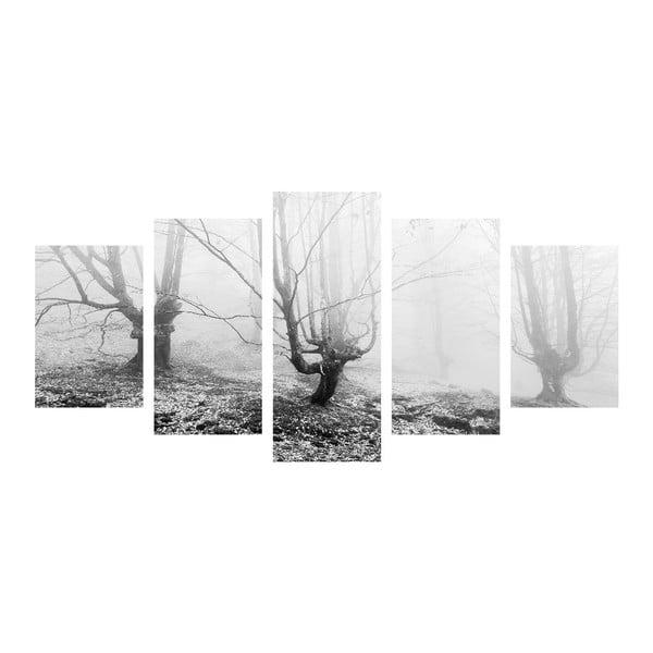 Viacdielny obraz Black&White Winter