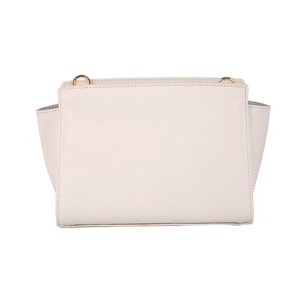 Kožená kabelka Andrea Cardone 2022 White