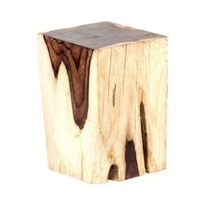 Záhradná stolička z palisandrového dreva Massive Home Treb Odine