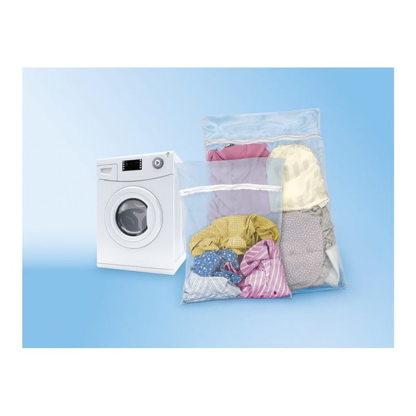 Sada 2 sieťok na pranie bielizne Metaltex Protector