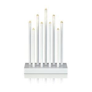 Biely svietiaci LED svietnik Markslöjd Viik