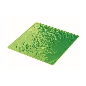Zelený tanier Fratelli Guzzini Aqua