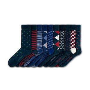 Sada 10 ponožiek Black&Parker London Hampton Court, veľkosť 37 – 43