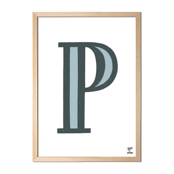 Plagát P od Karolíny Strykovej
