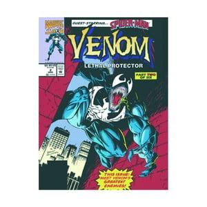 Obraz Pyramid International Venom Lethal Protector Comic Cover, 60 × 80 cm