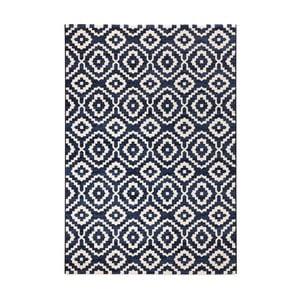 Modrý koberec Mint Rugs Diamond Ornamental, 200 x 290 cm