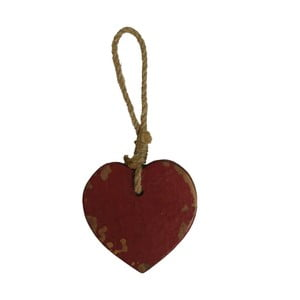 Závesná dekorácia v tvare srdca Antic Line Tom