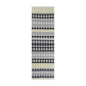 Zelený bavlnený koberec Linie Design Nantes, 80x150cm