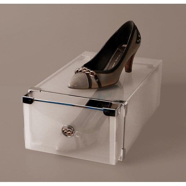 Set 2 škatúľ na topánky Jocca Plastic Boxes, 34x22cm