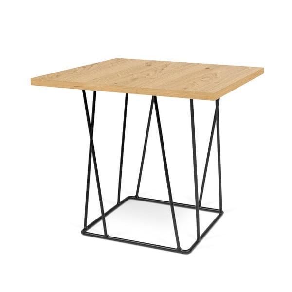 Konferenčný stolík s čiernymi nohami TemaHome Helix,50cm