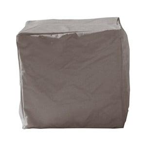 Sivý vonkajší vodoodolný puf Sunvibes Cube