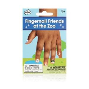 Sada nálepiek na nechty npw™ Zoo