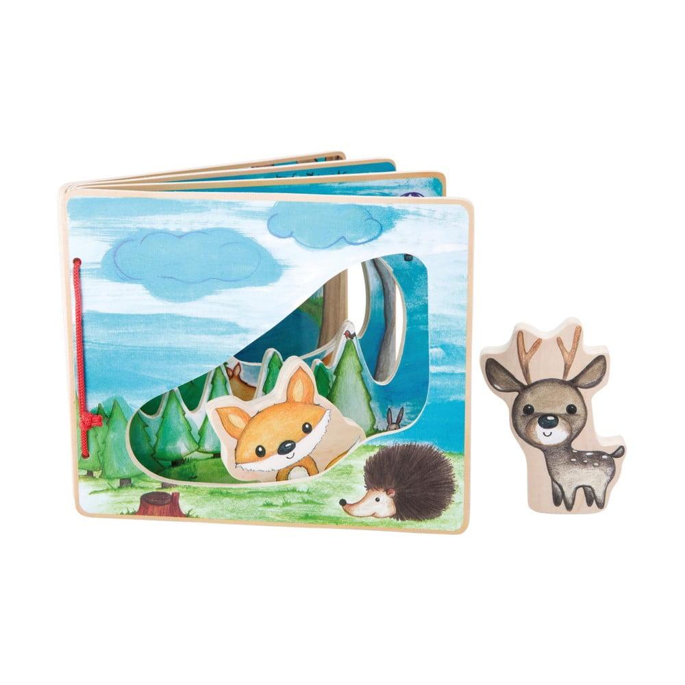 Interaktívna detská knižka Legler Forest