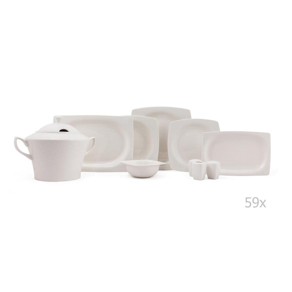 59-dielna sada porcelánového riadu Kutahya Sample
