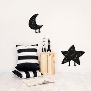 Samolepiaca tabuľa Moon & Star