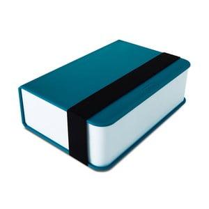 Modrý desiatový box Black Blum Book