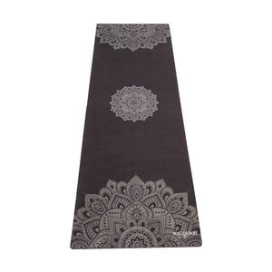 Čierna podložka na jogu Yoga Design Lab Commuter Mandala, 1,3 kg