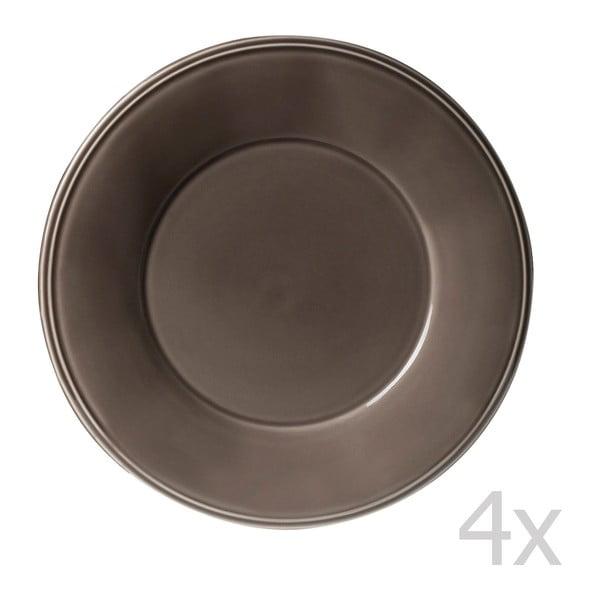 Sada 4 tanierov Constrance Pepper, 28.5 cm