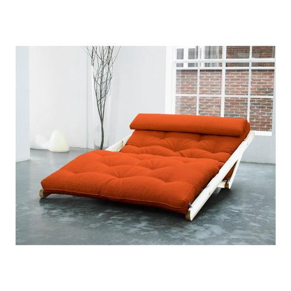 Leňoška Karup Figo, Raw/Orange, 120 cm