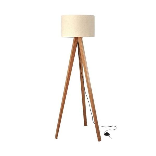 Stojacia lampa Tripod White/Walnut