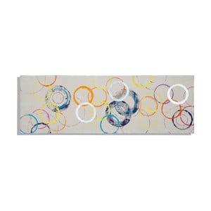 Ručne maľovaný obraz Mauro Ferretti Rings, 50 x 150 cm