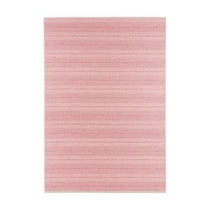 Ružový koberec vhodný aj do exteriéru Runna, 180×280cm