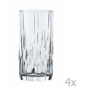 Sada 4 pohárov z krištáľového skla Nachtmann Shu Fa, 360 ml