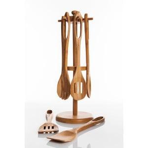 Bambusový stojan s kuchynským náradím Range
