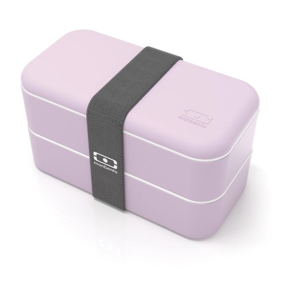 Ružový obedový box Monbento Original