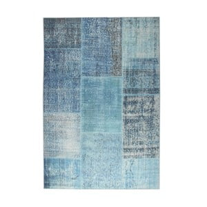 Modrý koberec EkoRugs Oina, 120x180cm