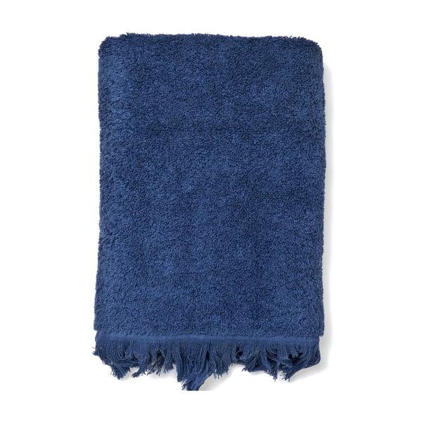 Sada 4 modrých bavlnených uterákov CasaDiBassi Bath, 50x90cm