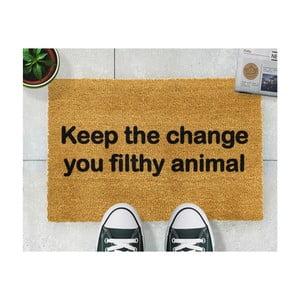 Rohožka Artsy Doormats Keep The Change, 40x60cm
