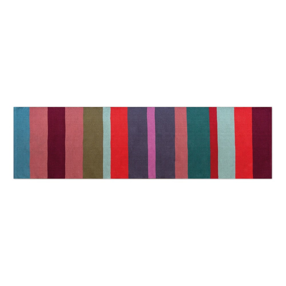 Bavlnený behúň Remember Malve, 80 x 250 cm