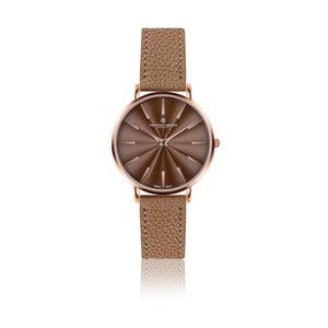 Dámske hodinky s koňakovohnedým remienkom z pravej kože Frederic Graff Rose Monte