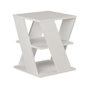 Biely príručný stolík Cyclo White