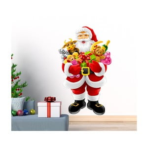 Vianočná samolepka Ambiance Santa Claus and Gifts