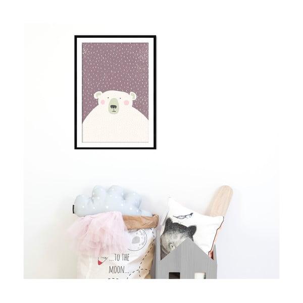 Zarámovaný obraz Bear, 50x70 cm