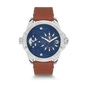 Pánske hodinky s koženým remienkom Santa Barbara Polo & Racquet Club Himalay