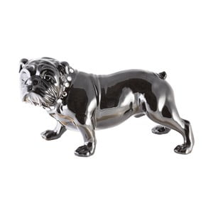 Keramická dekorácia Fisura Bulldog Dark