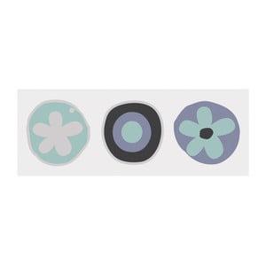 Magnetická popisovacia tabuľa s perom a 4 magnetmi Eurographics Flowers