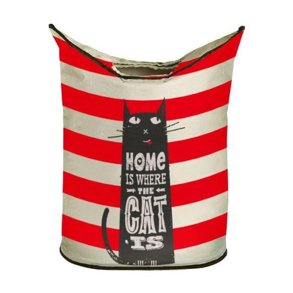 Úložný kôš  Butter Kings Home With Cat