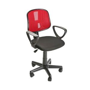 Červená kancelárska stolička na kolieskach Versa Office