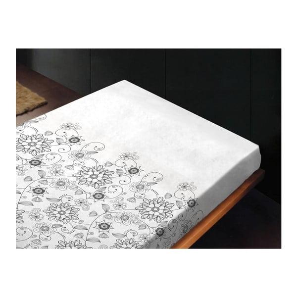 Neelastická posteľná plachta Celina Unico, 240x260 cm