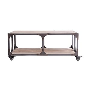 Konferenčný stolík Last Deco Malton, 100 x 60 cm